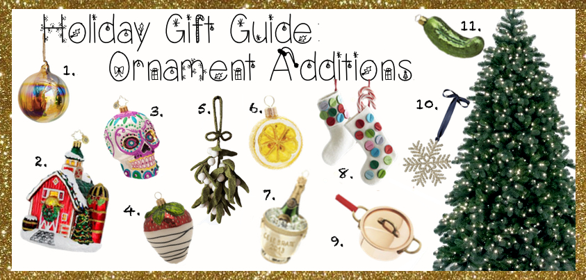 Holiday Gift Guide- Ornaments